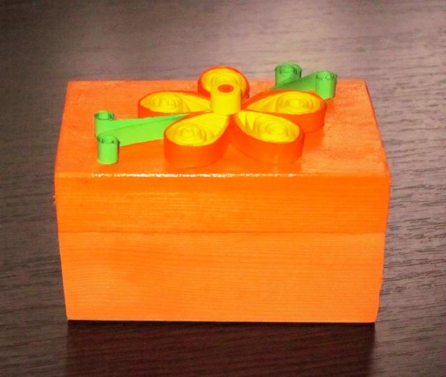 cutie pentru bijuterii quilling
