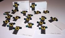 invitatie handmade floarea soarelui quilling for you